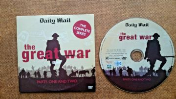 The Great War DVD Originally Released  by the Daily Mail Parts 1 & 2